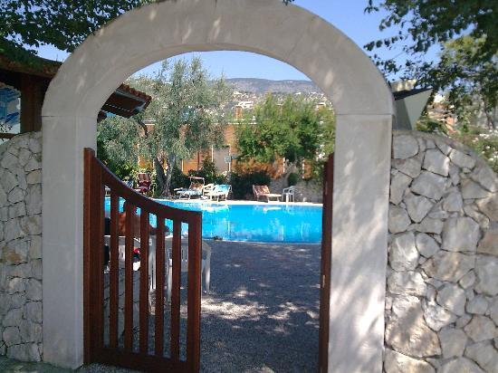 La Rotonda Hotel : Entrata piscina