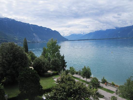 Eden Palace au Lac: view from our balcony
