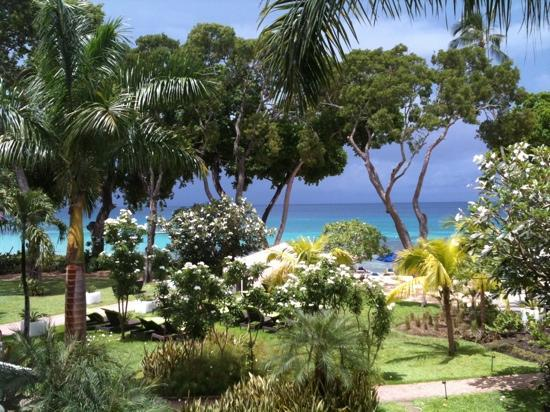 Tamarind by Elegant Hotels: View from our balcony- ocean view suite
