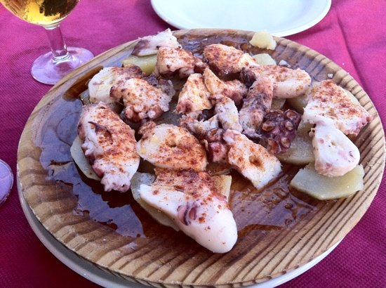 Club 200: Pulpo a la gallega