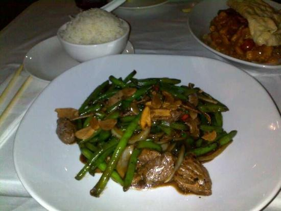 Yellow : Saigon beef-very delicious