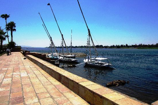 ACHTI Resort Luxor: Feluccas at Sheraton