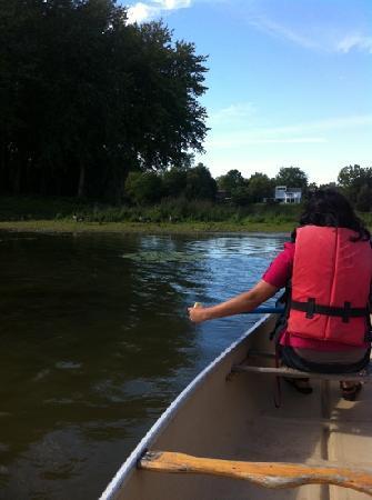 Parc de la Rivière-des-Mille-Îles : took canoe for $12/hour