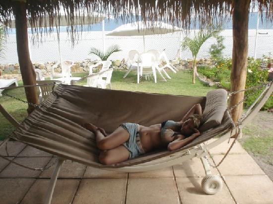 Hotel Balneario San Juan Cosala: Hamacas