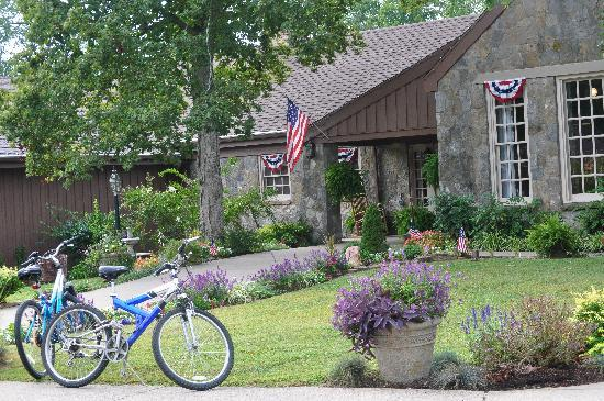 Pennyrile Forest State Resort Lodge : Bring your Bikes!