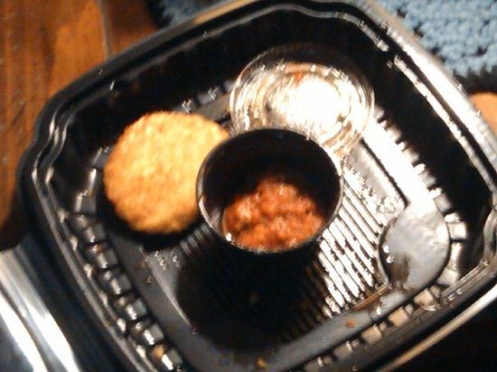 Gino's East: toasted ravioli