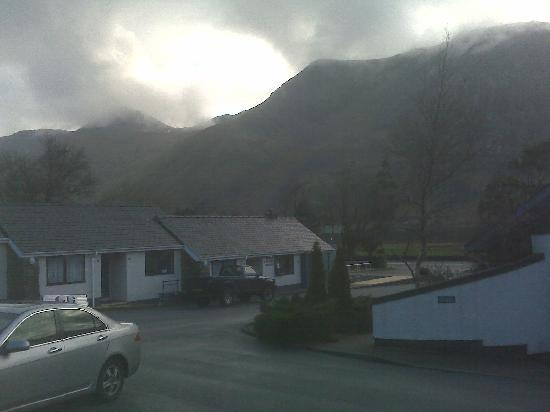 Snowdonia Mountain Lodge: view from our room