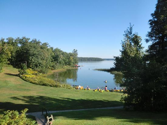 Lakewoods Resort: view from our balcony