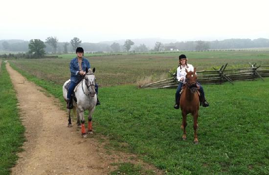 Hickory Hollow Horse Farm: riding the confederate line