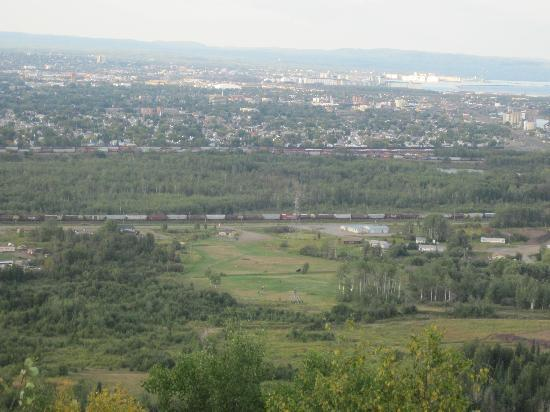 view of the City of Thunder Bay