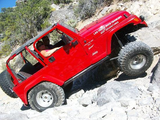 Las Vegas Rock Crawlers: What rock ?