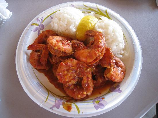 Giovanni's Shrimp Truck: hot & spicy shrimp