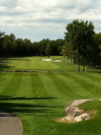 Black Bear Ridge Golf Club :                   17th Tee at Black Bear Ridge