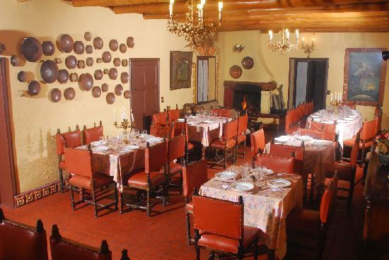 Hacienda- Hosteria Chorlavi: Restaurante