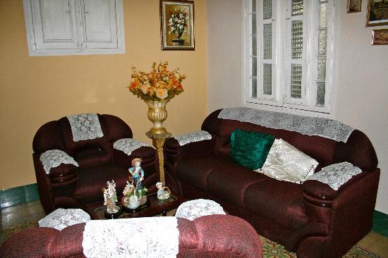 Sra. Herminia Nieves Martinez: Wohnzimmer