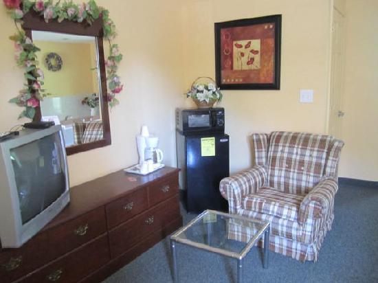 Relax Inn: Sitting area