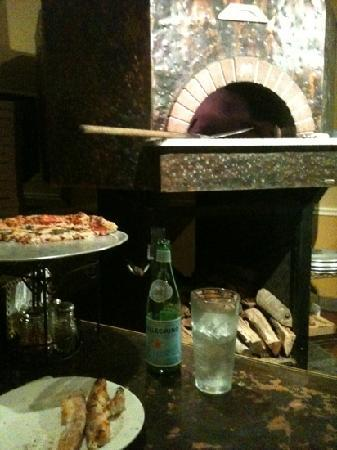 The Tuscan Oven Pizzeria: wood fired oven