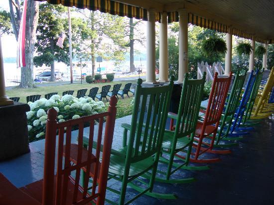 Hotel Lenhart: Deck