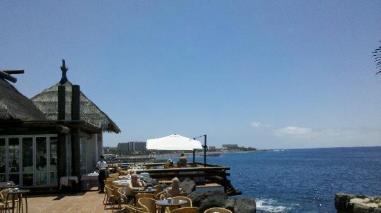 Hotel Jardín Tropical: Ristorante la Rocha