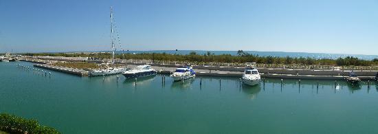 Greenblu Marinagri Hotel & SPA : Vista mare dalla stanza..