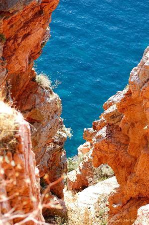 Les Calanche Cliffs : Uno degli affacci delle Calanche sul mare di Porto