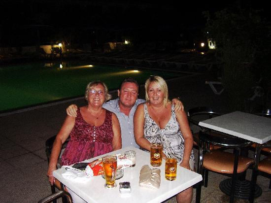 Rodos Sun: ruby paul and vicky