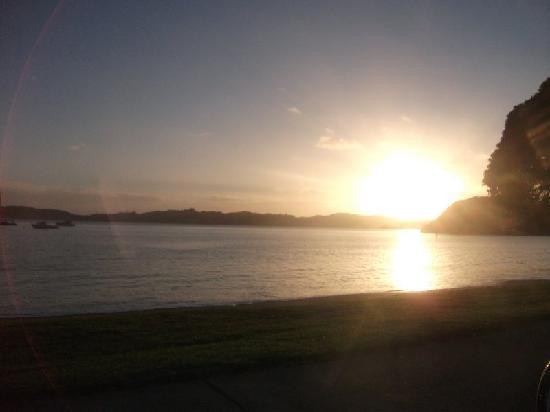 Dolphin Motel: Paihia Sunset