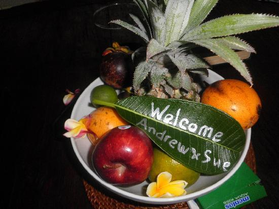 Kembali Villas: Lovely touch on arrival