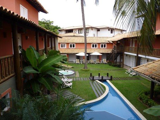 Hotel Pousada Tatuapara: Giardino e piscina