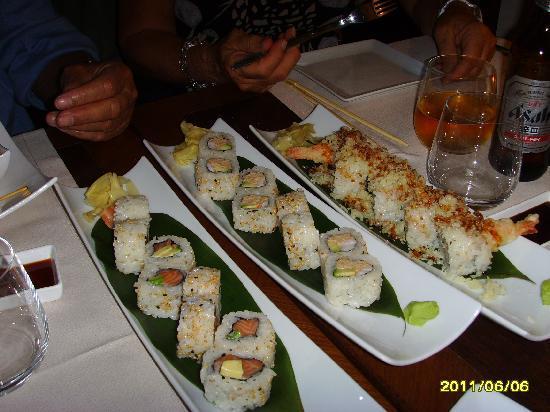 Hana Restaurant: sushi