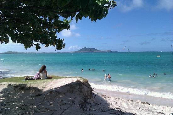 Kailua Beach Park: Utsikt från strandkanten