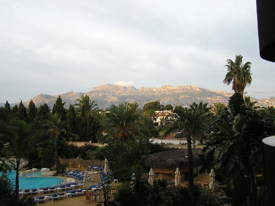 Albir Playa Hotel & Spa: from the balcony