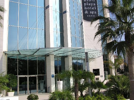 Albir Playa Hotel & Spa: front of hotel
