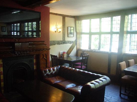 Bear and Billet: Interior of first floor of Bear & Billet