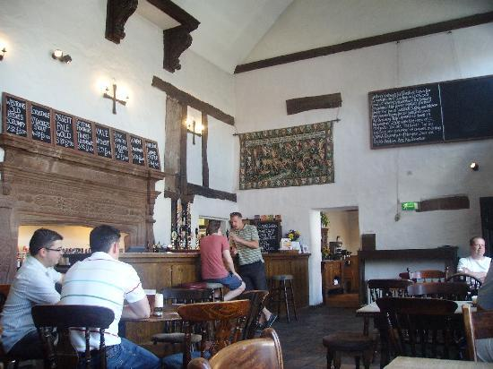 The Brewery Tap: Interior of Brewery Tap