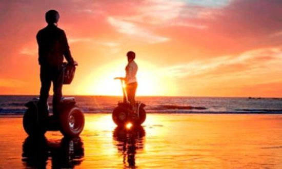 Segway Tours of Costa Rica: Sunset Beach tours on Segway Jaco