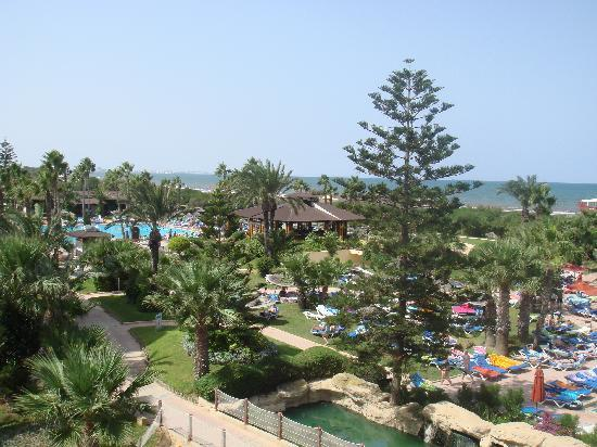 Sahara Beach Aquapark Resort: View from our balcony (2nd floor)