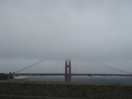 สะพานโกลเดนเกท: fog