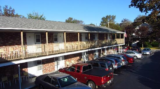 Terrace by the Sea: The Court Motel building