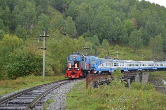 Circumbaikal Railway: Circumbaikal Train
