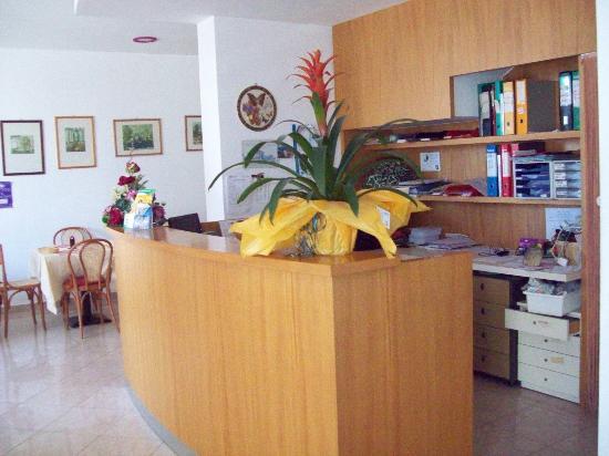 Hotel Marylise: La reception.