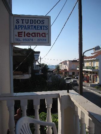 Eleana Apartments: Il nostro balcone