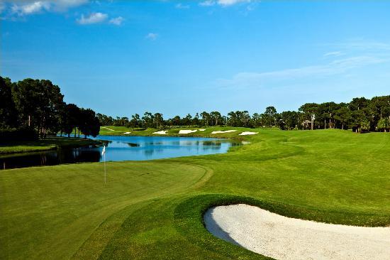 PGA Golf Club in PGA Village - Ryder Course: Hole 4