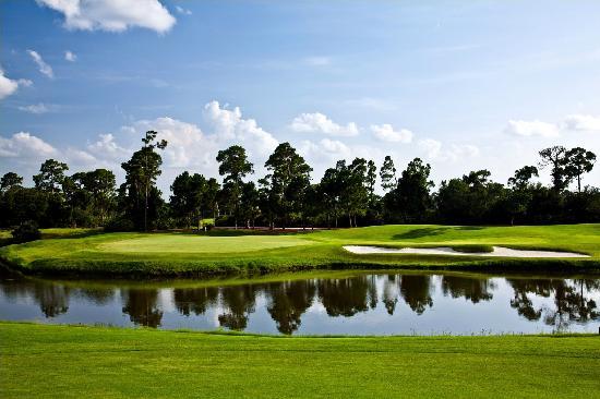PGA Golf Club in PGA Village - Ryder Course: Hole 16