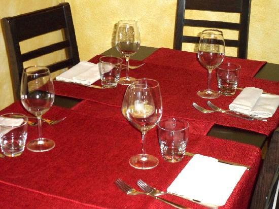 Ristorante Locanda dell'Arco: Tavolo