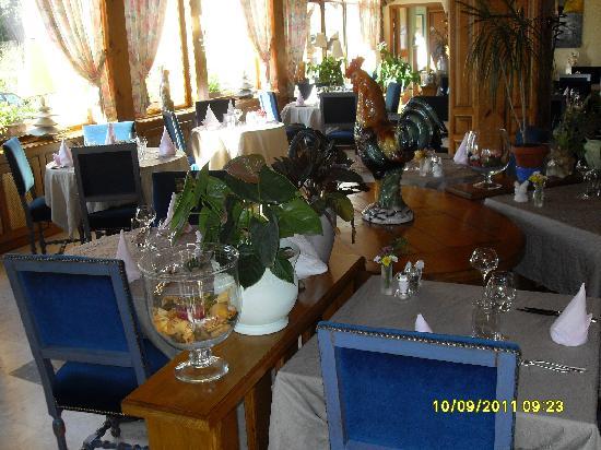 Hotel aux Deux Clefs : La salle à manger