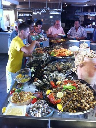 La Ferme Marine : buffet