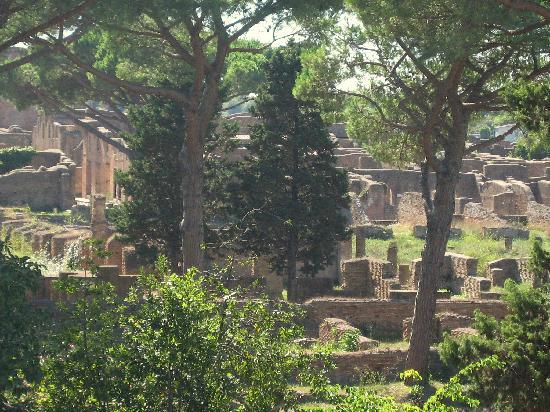 Parco Archeologico di Ostia Antica: Vue très partielle du site