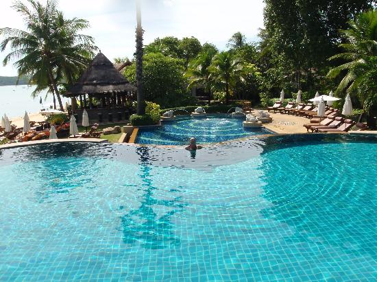 Bandara Resort & Spa : Two beach pools & bar
