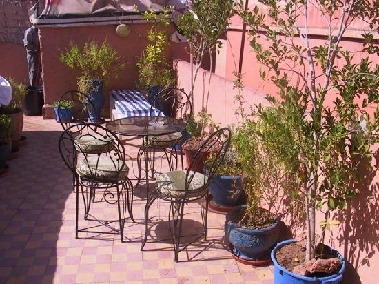 Riad Espagne : terasse